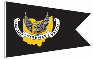 OSHP Logo Flag - Large